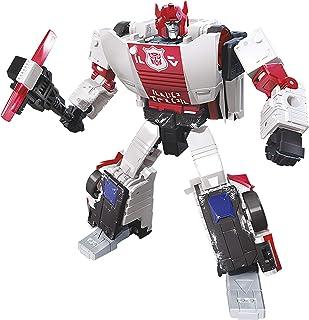 Transformers Toys Generations War for Cybertron Deluxe Wfc-S35 红色警示可动公仔 - Siege Quoge - 成人和儿童,8 岁及以上,5