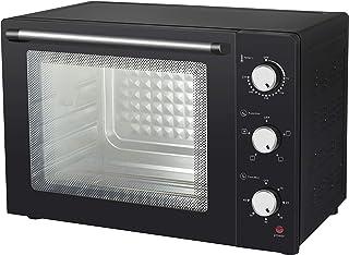 63 升电动换气烤箱,带旋转烤串,带双层*玻璃和隔热外墙
