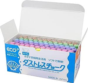 日本理化学 无尘 粉笔 6色