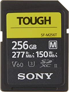 SONY 索尼 TOUGH-M系列 SDXC UHS-II 显卡,256GB,V60,CL10,U3,不大于R277MB / S,W150MB / S(SF-M256T / T1)