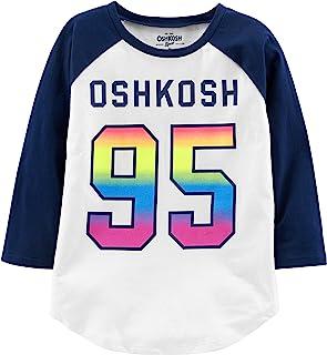 OshKosh B'Gosh 女童校队标志 T 恤