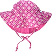 i play. Baby Girls Reversible Brim Sun Protection Hat