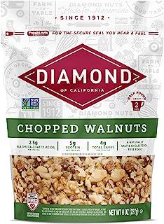 加州切碎的核桃钻石,8 盎司(12 个装)(包装可能会有所不同)