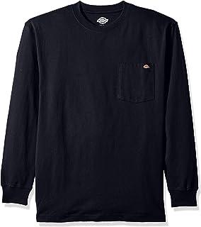 Dickies 男式 Big & Tall 长袖重磅圆领 T 恤