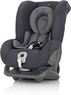 Britax 宝得适 Römer Reboarder 儿童汽车安全椅 0-4岁/0-18kg First Class Plus 0+/1组别,风暴灰