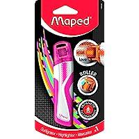 Maped 荧光滚轮荧光笔 - 粉色,746326