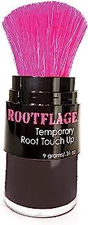 Rootflage Root Touch Up 发粉 - 临时*,灰色覆盖,根部遮瑕,细发填充,干洗发水,眉毛填充(09 棕色黑色)