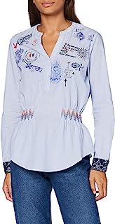 Desigual 女式 Blus_Dante 衬衫