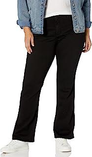 NYDJ 女士加大码 Barbara 喇叭牛仔裤