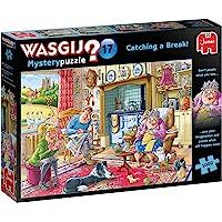 Jumbo Wasgij,Mystery 17,Catching a Break,拼图,多色,1000