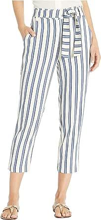 BCBGeneration 女士条纹腰带裤子