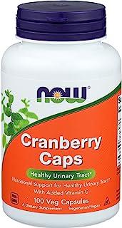 NOW 诺奥 蔓越莓浓缩,100 粒素食胶囊(每包 2 片)