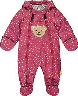 Steiff 中性婴儿 带甜美泰迪布拼接雪服