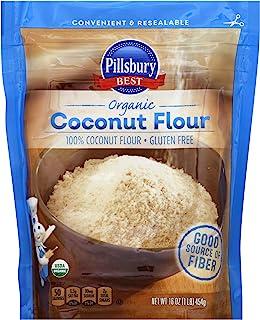 Pillsbury Best Organic Coconut Flour, 16-Ounce (Pack of 6)