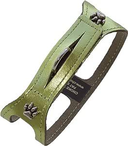 ChokeFree 宠物肩领,35.56 厘米,金属绿