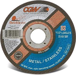 CGW 45002 切割轮 T27 4-1/2x.045x7/8 25 件装