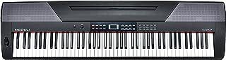 Medeli SP4000 电动键盘,88 键,黑色