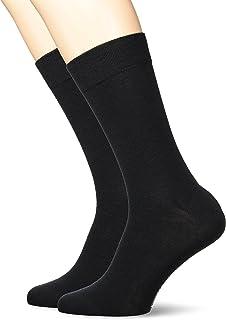kunert 男式舒适羊毛 DP 筒袜2个装