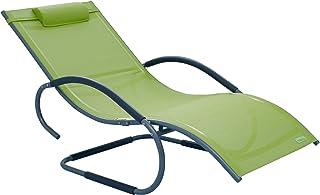 Meerweh 铝制摇摆躺椅 豪华 XXL,*,160 x 75 x 85 厘米,74047