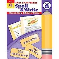 Skill Sharpeners: Spell & Write Grade 6 覆盖 多种颜色