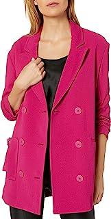 A|X Armani阿玛尼女式经典双排扣西装,束袖设计
