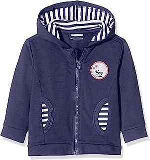 Salt & Pepper 婴儿女童 Mit Kapuze Und Maritimem 徽章运动夹克