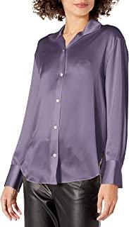Vince 女式立领衬衫