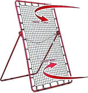 Rukket Pitch Back 棒球/垒球反弹器 | 投球和投掷练习伙伴 | 可调节角度投掷训练器