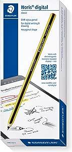 Staedtler 施德楼 Noris digital 经典数位板笔 EMR手写笔 180 22.(经典六角形,4096级压力,F尖线宽0.7mm)