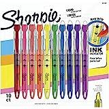 Sharpie 锐意荧光笔,多色,十支装