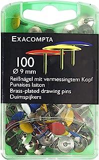 Exacompta 绘图针,9 x 9 毫米 - 各种颜色,100 件