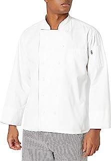 Chef Code 黑色饰边男士经典行政厨师外套