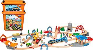 BRIO Smart Tech 声音动作隧道豪华火车套装,适合 3 岁以上儿童使用 - 兼容所有 BRIO 木质铁路套件和配件
