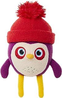 Becca's Bunch 毛绒玩具 Becca 柔软可爱迷你毛绒玩偶,站起来有 8 英寸高,Becca 身着红色摇粒帽 - 毛绒带缝合细节,适合 12 个月以上儿童