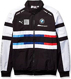 PUMA 男士 BMW 赛车运动街头针织夹克