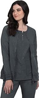 KOI LITE 女式净度前拉链纯色磨砂夹克