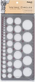 Pickett 公制圆圈模板 (1300I)