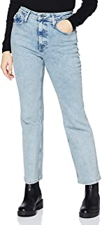 Superdry 极度干燥 女士高腰喇叭牛仔裤