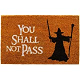 "getDigital ""You Shall Not Pass""门垫 由"