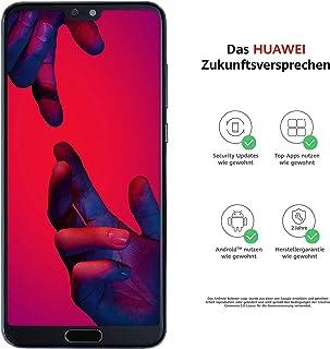 Huawei 华为 P20 Pro 智能手机套装(15.5 厘米(6.1 英寸),40/20/8 MP Leica 徕卡三摄像头,128GB 内部存储,6GB 内存,安卓 8.1,EMUI 8.1)蓝色 [亚马逊*] - 德国 版本
