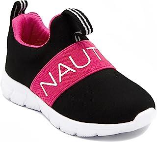 Nautica 女童时尚运动鞋 一脚蹬跑鞋