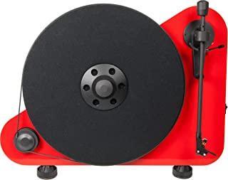 "Pro-Ject VT-E R BT,垂直""即插即用""电唱机,带无线音频流(红色)"