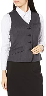 Cecile 背心 4个纽扣背心 办公服 可机洗 羊毛混纺 女士 AR-432