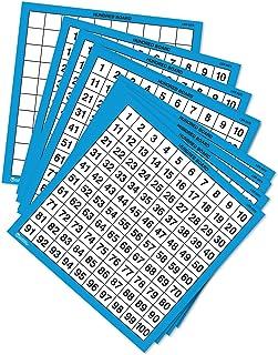 Learning Resources 层压板,干擦计数辅助工具,10套,适合5岁以上的人群,彩色,型号:LER0375