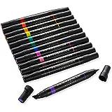 Prismacolor 3620 Premier 双头美术标记笔,凿子尖端