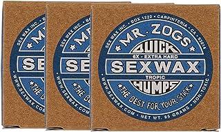 SEXWAX 萨芬 用 快速打蜡 6X 蓝色 标签 3个装