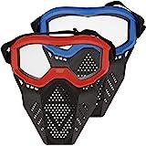 Surper 2 件装面罩战术面罩兼容 Nerf Rival、Apollo、Zeus、Khaos、Atlas、Artem…