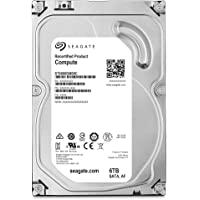 Seagate 希捷 Compute 6TB 内置硬盘 HDD 3.5 英寸 SATA 适用于电脑台式电脑 (ST600…