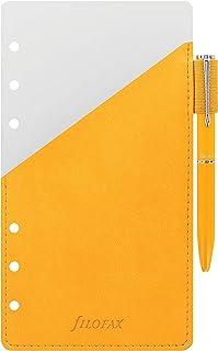 Filofax 个人记事笔环,黄色 (B131003)