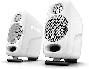 IK Multimedia iLoud微型监视器扬声器,白色